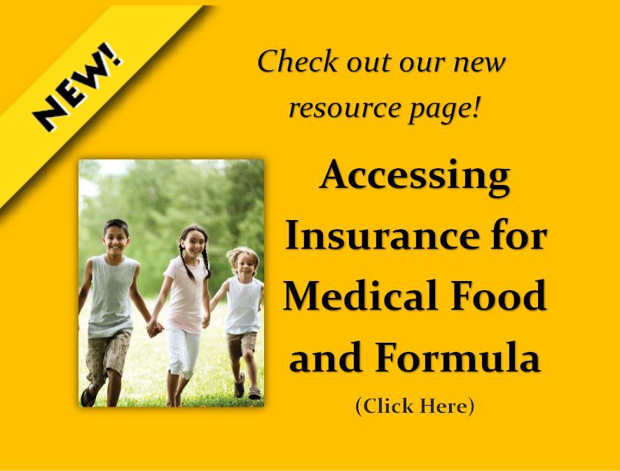 Medical Food and Formula